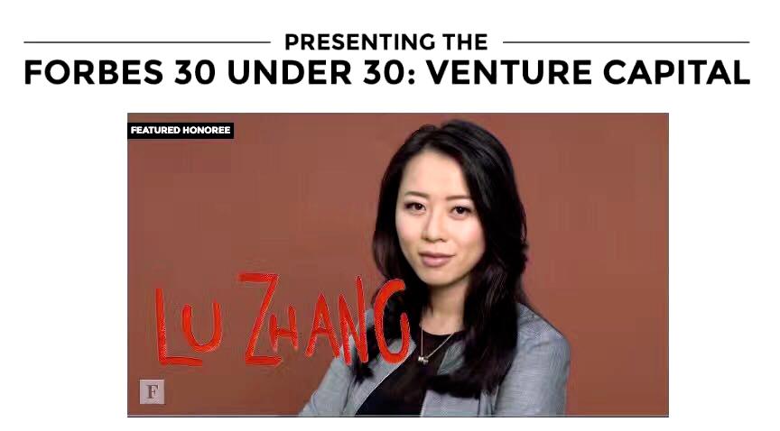 硅谷VC张璐登2017美国福布斯,获华人史上最高荣誉